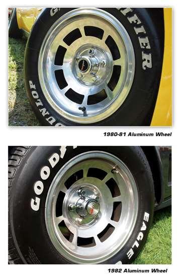 1982 82 Corvette Aluminum Wheel Center Cap Set NEW