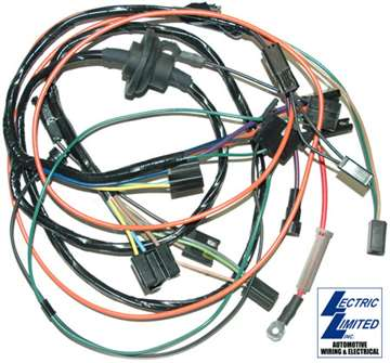 1 29105 corvette harness air conditioning w heater wiring 1972 1973 72 corvette engine compartment 72 corvette wiring harness #5