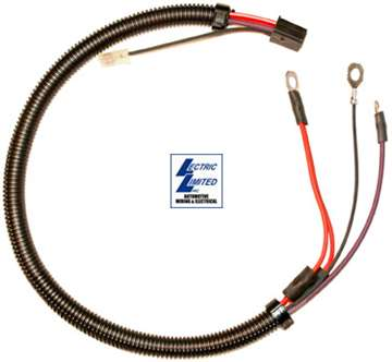 29661 - 77-78 Wire. Starter Extension W/O Air Conditioning 77 Late 1996 chevy silverado wiring diagram Corvette Parts Worldwide