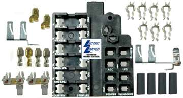 1 40380 64 66 fuse block repair kit64 Corvette Fuse Box #7